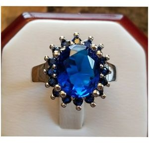 5.30ct Sapphire Ring Size 6 & 9
